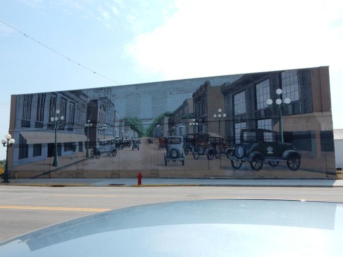wall  mural in  Little Falls MN