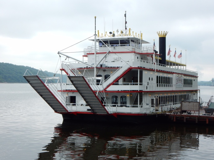 Jubilee II on the St.  Croix River