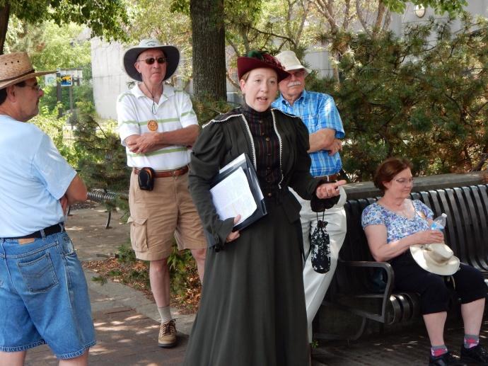 Mill City Museum working women tour