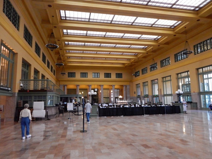 Head house area of Union Depot in St. Paul