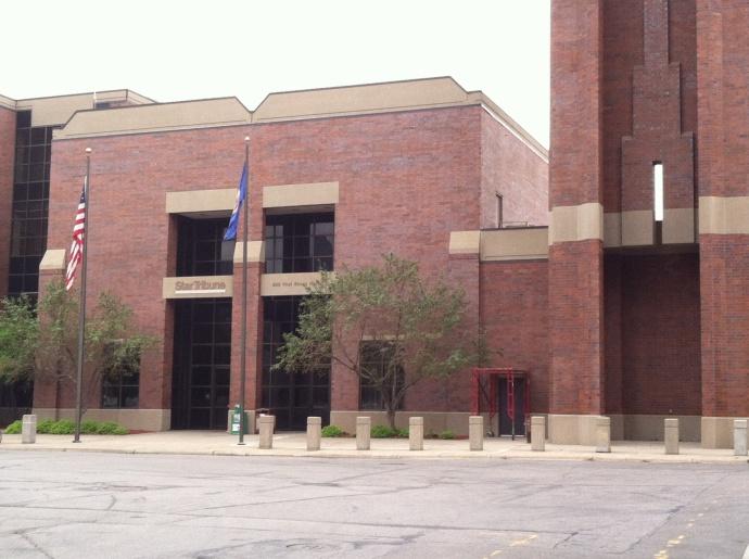 Star Tribune printing facility
