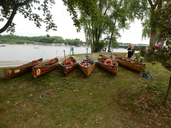 The  canoes