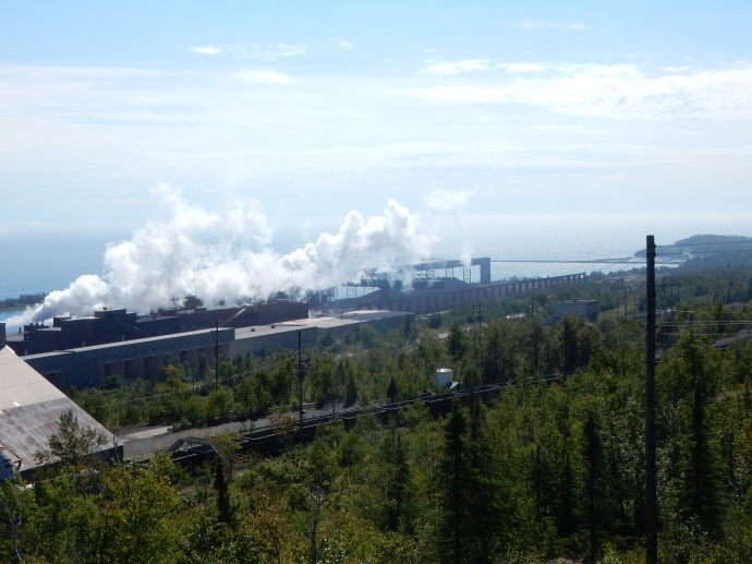 Taconite plant in Two Harbors
