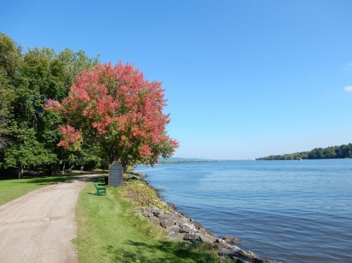 Ottawa River from Fairmont Montebello