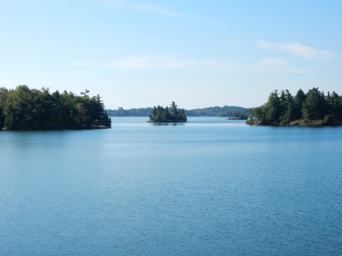 St. Lawrence River and islands