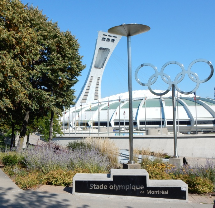 Olympic Tower, Stadium, RIngs, medals stand