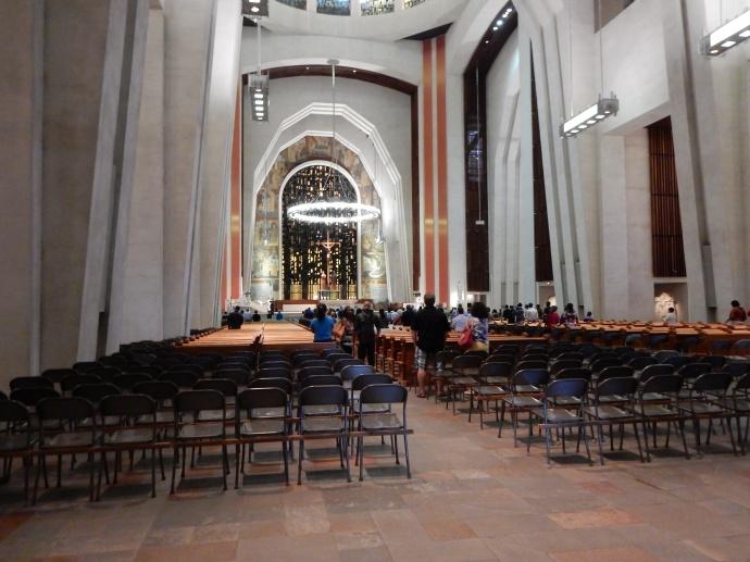 Inside of St  Joseph  Oratory