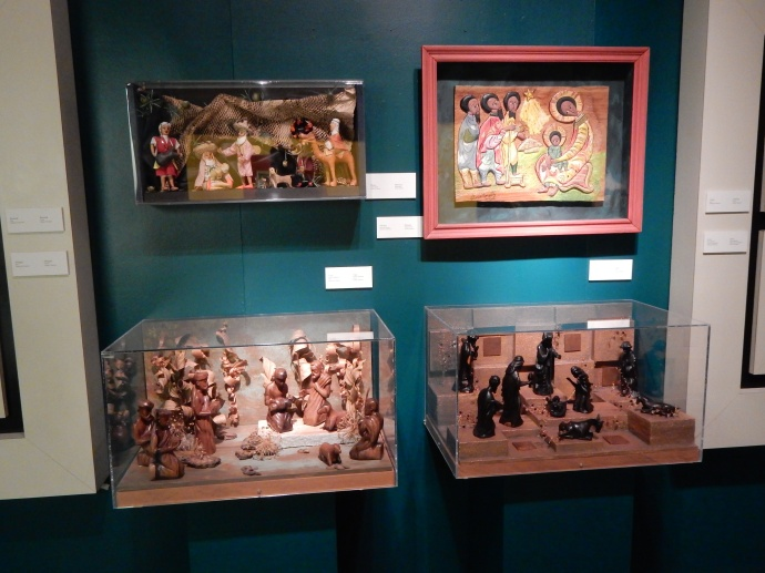 Some of the creches on display