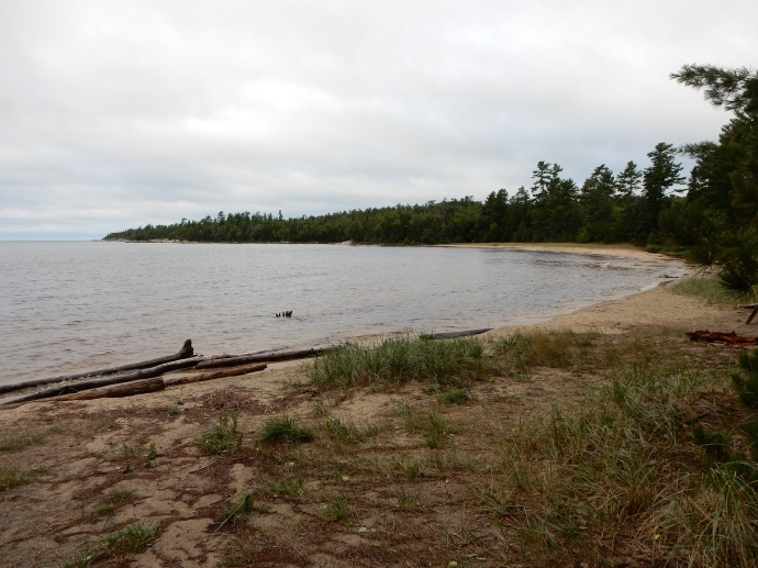 Katherine's Cove on  Lake Superior