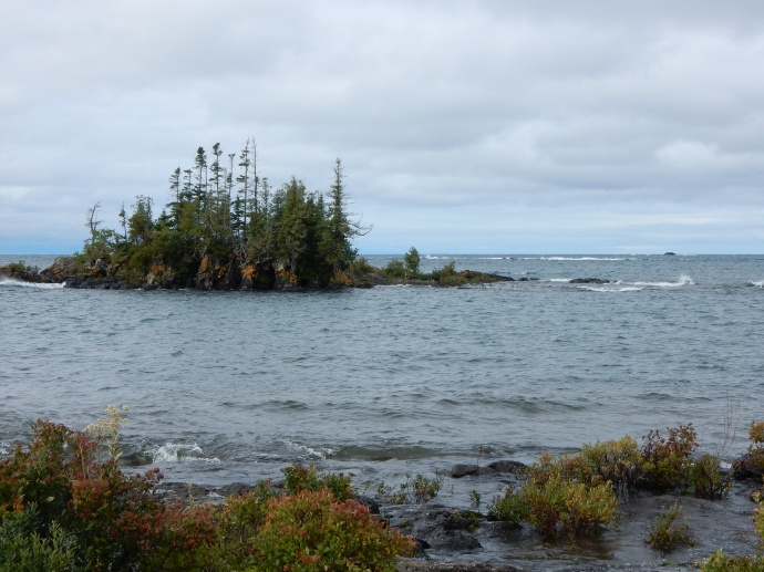 Another view along Lake Superior