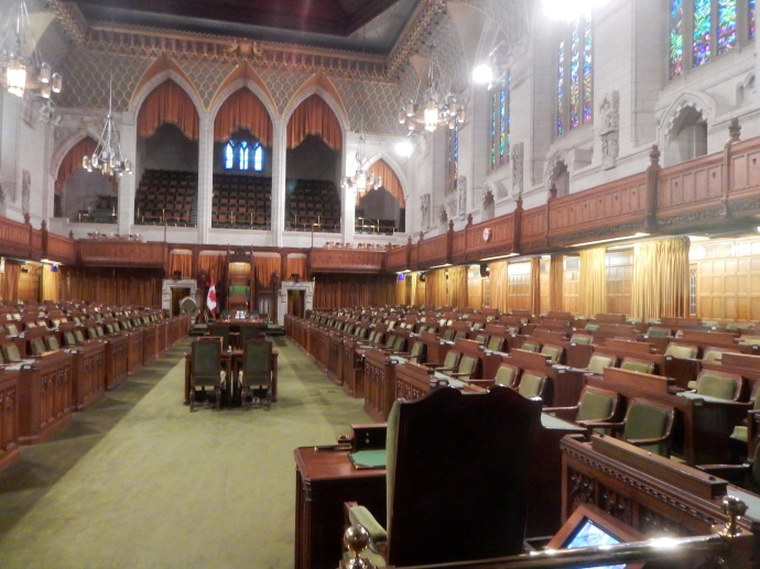 Canadian House chambers