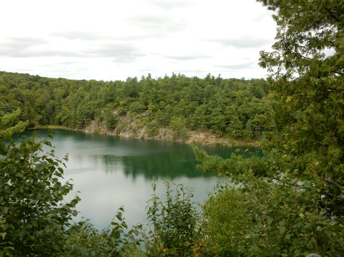 Pink Lake in Gatineau Park