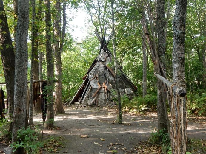 Ojibwe wigwam