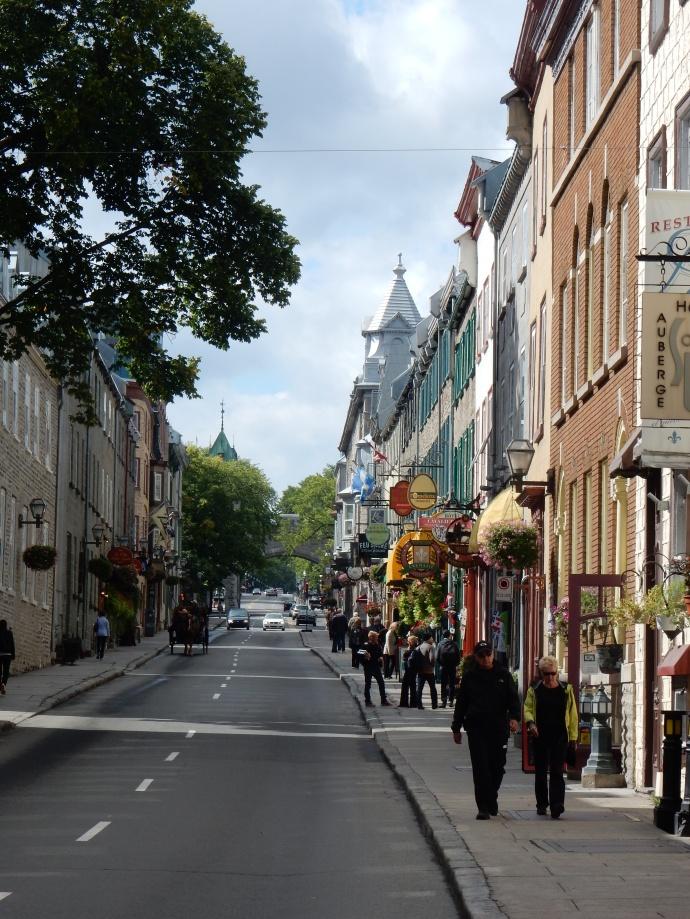 An Old Quebec city street