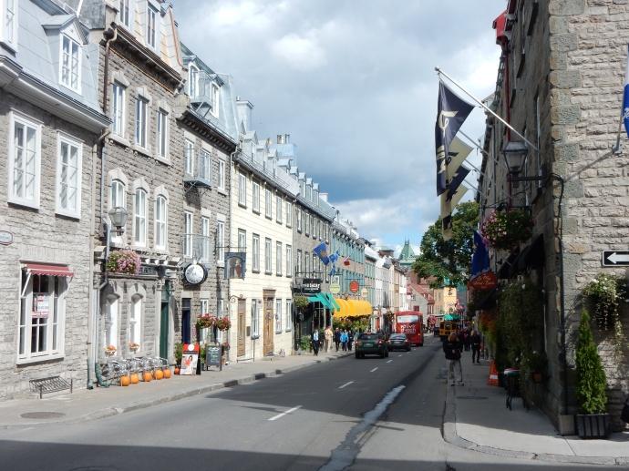 Walking Old Quebec