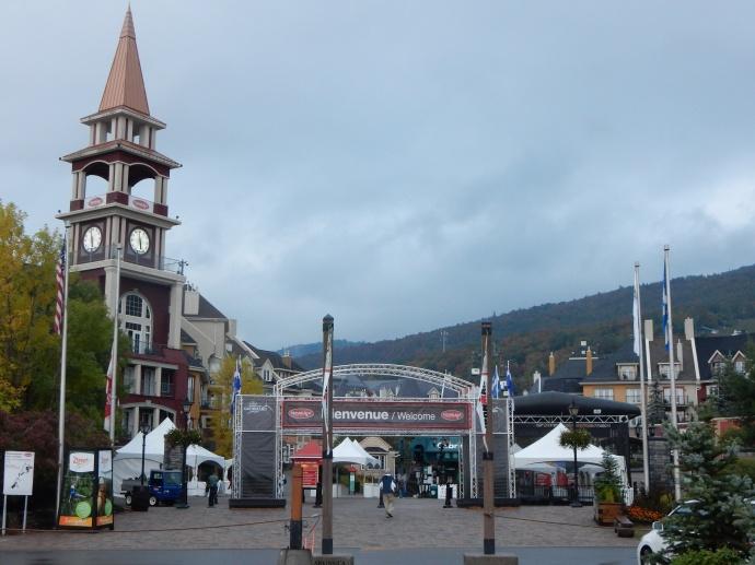 Entrance to Mont-tremblant ski village