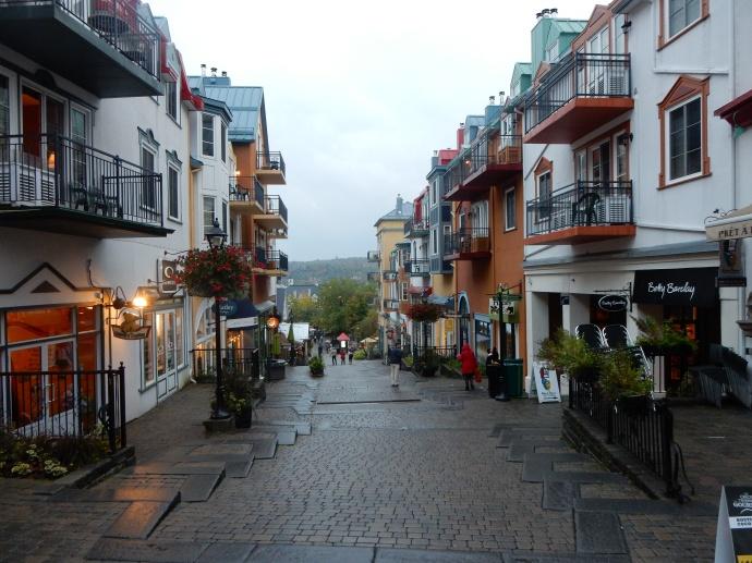 Street scene from cutesy village