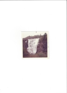 Kakabeka Falls west of Thunder Bay ON in 1972
