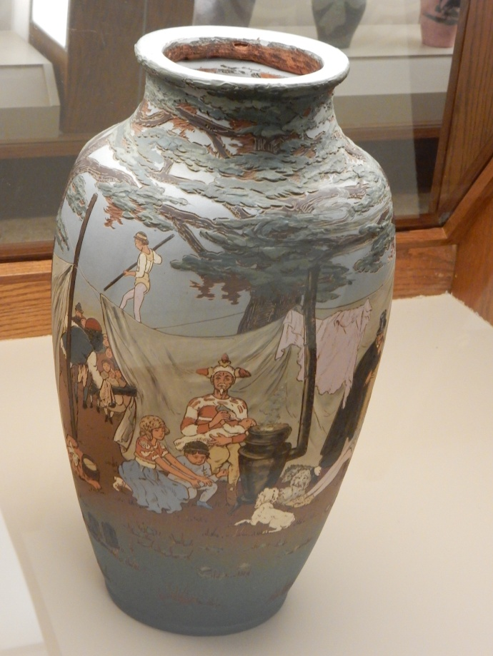 An example of pottery from the collection