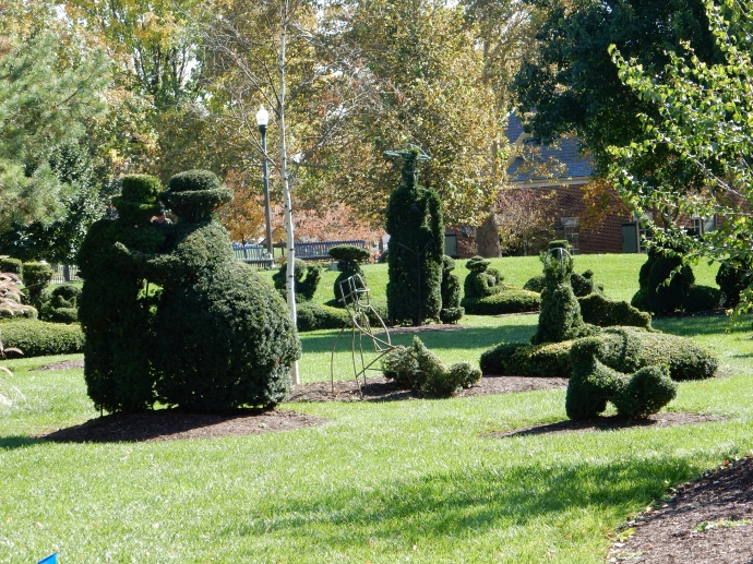 Topiary Park in Columbus Ohio