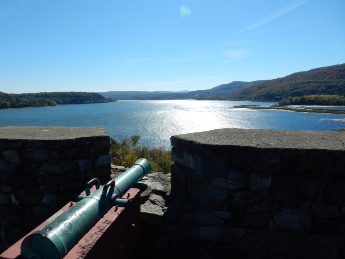 Looking south on Lake  Champlain from Fort Ticonderoga