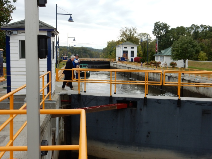 Lock number 5 of the Champlain Canal