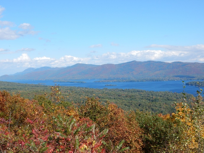 Another view from Prospect Mountain towards Lake George