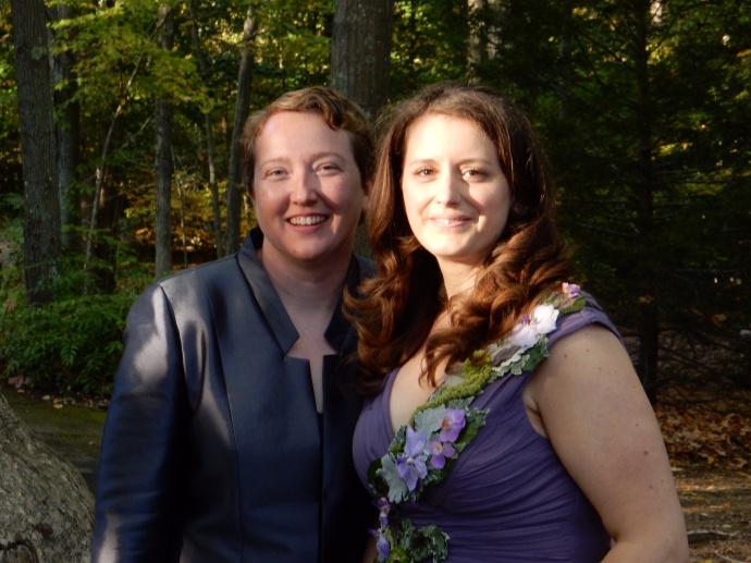 Deb and Rebecca