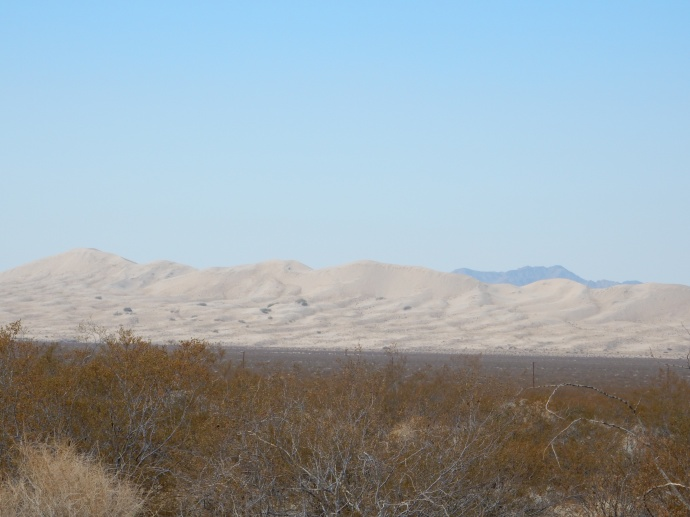 Kelso Dunes in Mojave National Preserve
