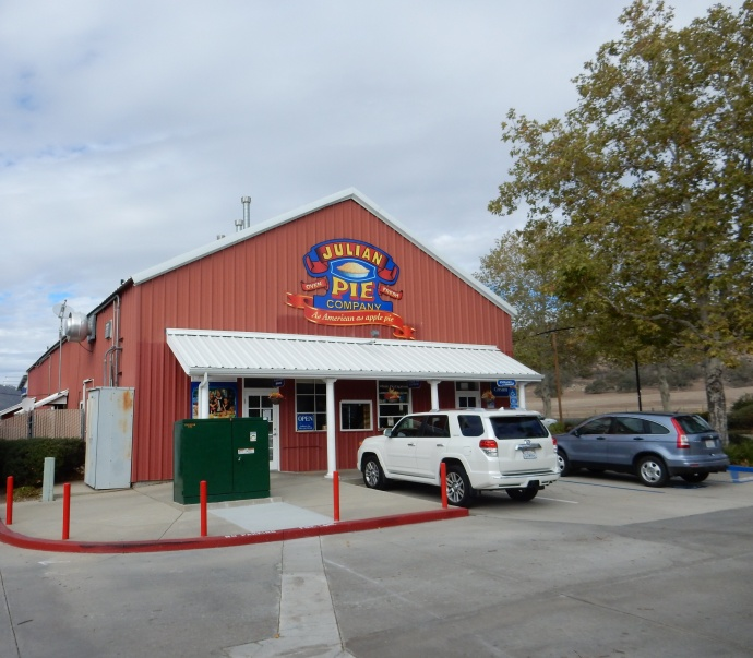 Julian Pie Company, Santa Ysabel location