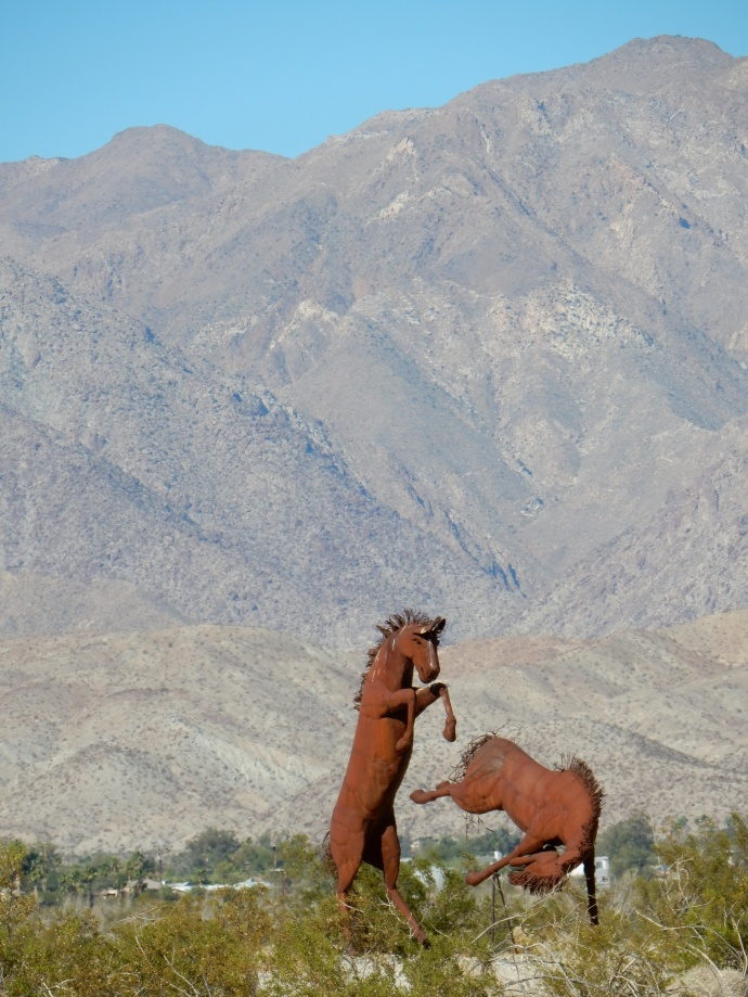 One of the Borrego Springs sculptures