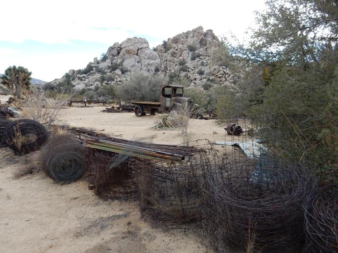 Part of the scrap yard