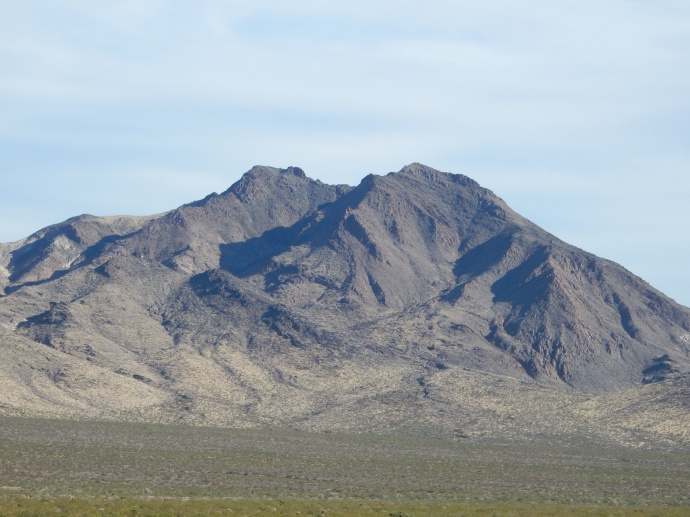 Rock formations at Mojave