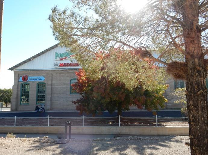 The Route 66 museum in Kingman AZ