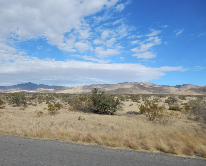 Driving to Vegas