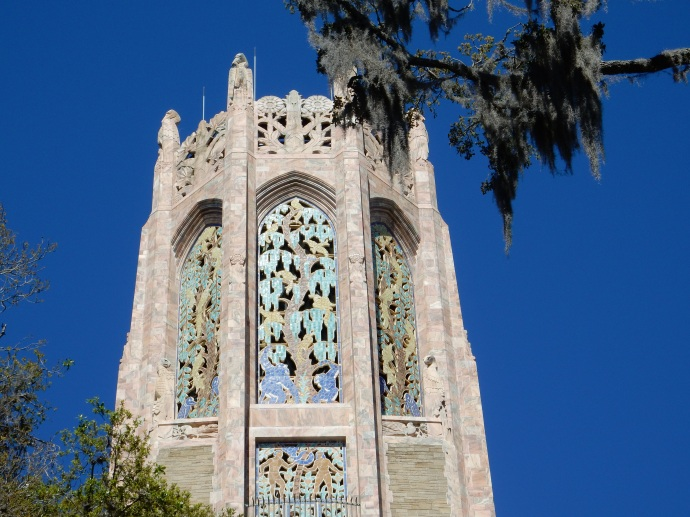 detail from top of Carillon