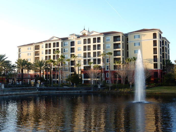Our building at HGVC-Tuscany Village Orlando