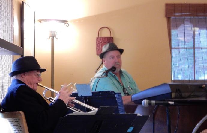 Sunday afternoon jazz at Sweet Magnolia Inn St. Marks FL