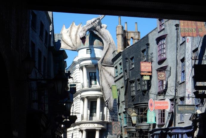Diagon Alley of Universal Studios Florida