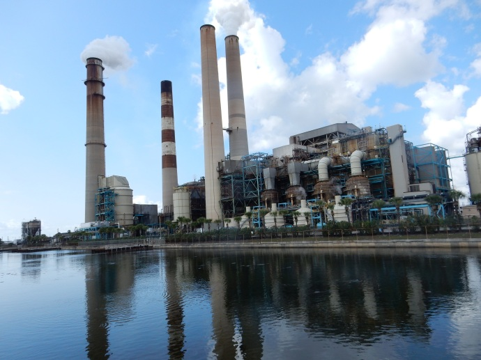 The BIg Bend Power Plant that keeps the manatees happy