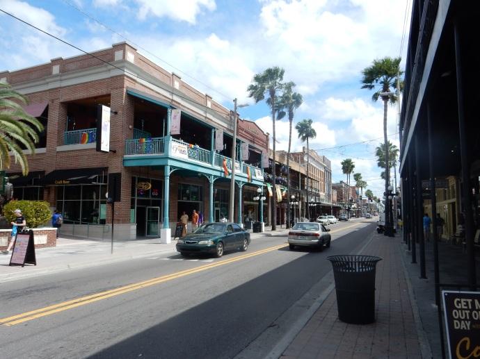 Street view of Ybor City