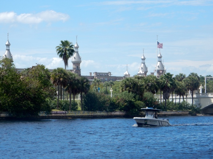 View from Tampa's RIverwalk