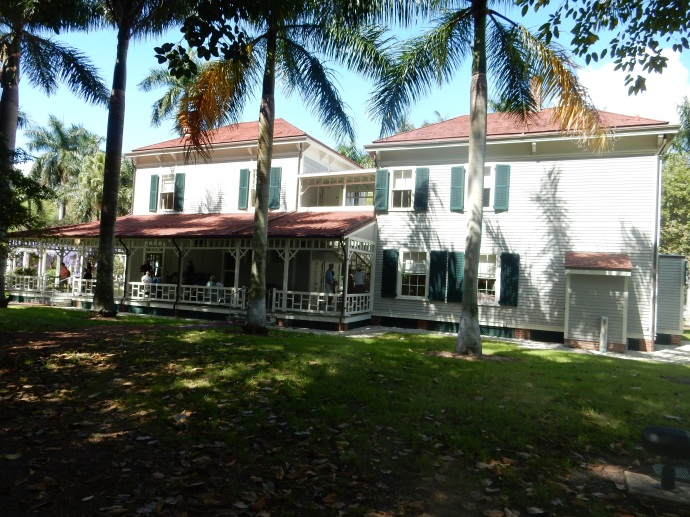 The Thomas Edison House and Guest House in Fort Myers FL