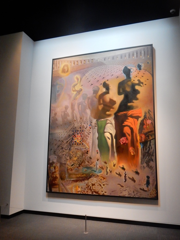 One of Dali's Masterworks, two stories high