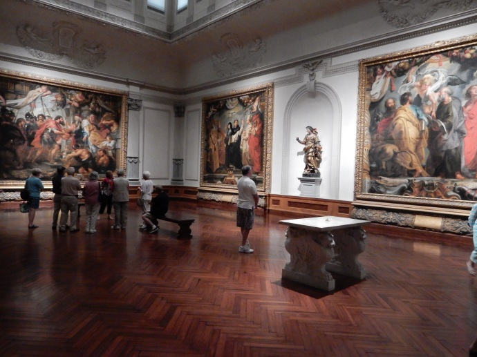 Ringling Museum of Art with Rubens works
