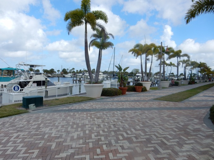 The marina at The Resort at Little Harbor