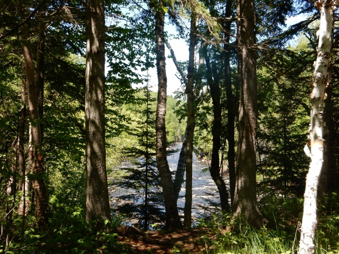Brule River in Judge C.R. Magney State Park