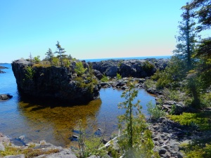 Scoville Point on Isle Royale National Park