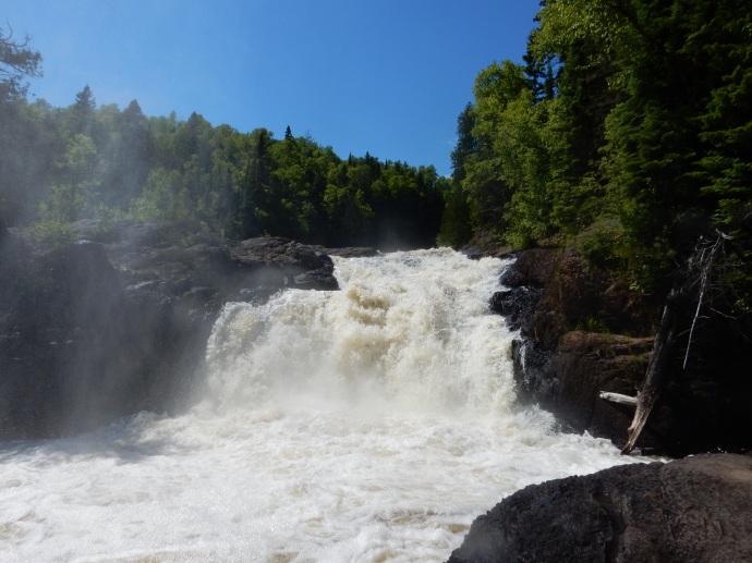 Brule River falls
