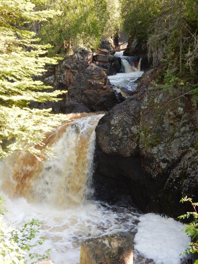Cascade River Falls, North Shore of MN